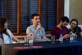 Sarah Helena, Eric Novello, Rober Pinheiro e Cristina Lasaitis